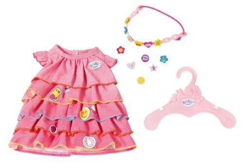 Zapf Baby Born ® abito estivo set con piedini BAMBOLE ABITO VESTITI ACCESSORI giocattoli