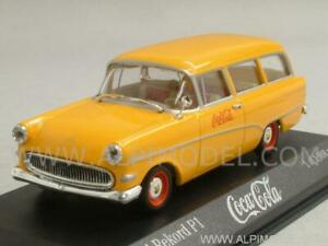 Opel Rekord P1 Caravan 1958 Coca Cola 1:43 Minichamps 430043270