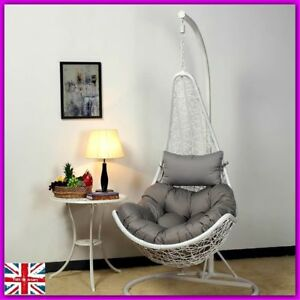 Image Is Loading Hanging Relax Chair Garden Rattan Patio Swing Egg