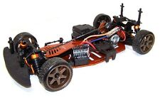 HPI Sprint 2 Chassis Aluminium Upgrade Hop-Up RADSHAPE RC - Orange #HPISPR2