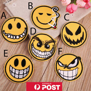 Emoji-Embroidered-Patches-for-Embroidery-Cloth-Patches-Badge-Iron-Sew-On