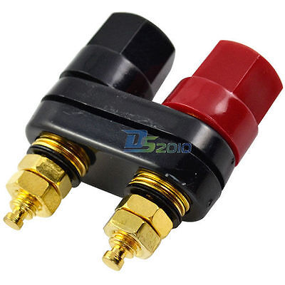 Amplifier Audio Terminal Binding Post 4mm Banana Plug Jack Socket Connector Hot