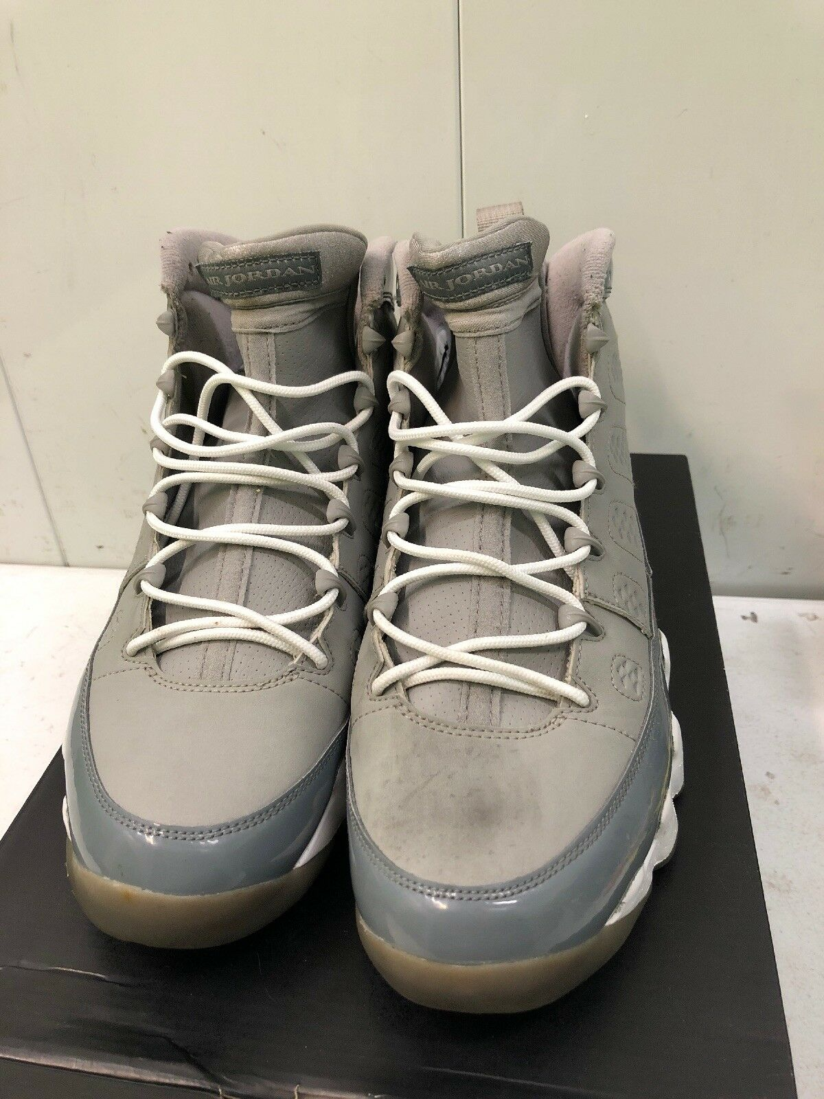 AIR JORDAN 9 RETRO COOL GREY 2012 RELEASE size 10