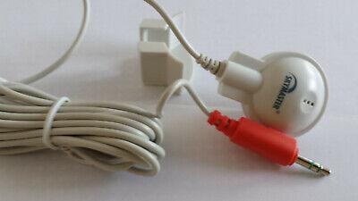 Obbiettivo Computer Mini Microfono Supporto Adesiva, Suono Top! Solo 33x20mm 2m Cavo 3,5mm Steck.-mostra Il Titolo Originale
