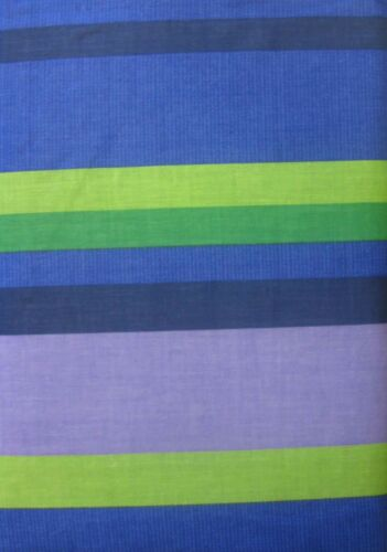 DOUBLE BED RIO BLUE DUVET COVER SET FUNKY RETRO STRIPES DOTS LIME GREEN LINES