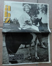 alte Zeitschrift ibz ILLUSTRIERTE 1954 Witze Werbung Heft Antik Rarität 50er