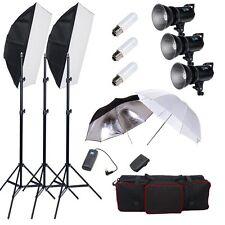 900W Godox Foto Studio Digital LED Strobe Flash luz Softbox Kit iluminación ES