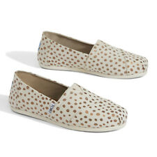 fbd103abd57 item 2 New Womens TOMS Classic Slip On Canvas Jute Pink   Gold Dots   Navy  Stripe   Met -New Womens TOMS Classic Slip On Canvas Jute Pink   Gold Dots    Navy ...
