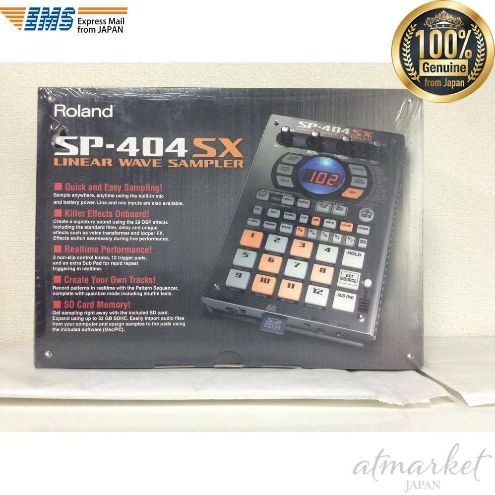 Roland SP-404SX Compact Linear Wave Sampler Portable New Japan F S EMS