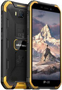 "5"" Rugged Smartphone Unlocked Android 9.0 4000mAh 2GB+16GB IP68 Waterproof Phone"