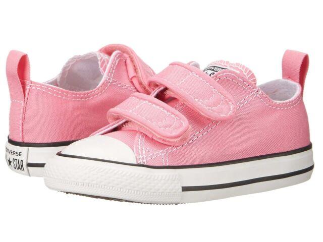 Infant Converse Chuck Taylor V2 2 Strap 3 M Pink