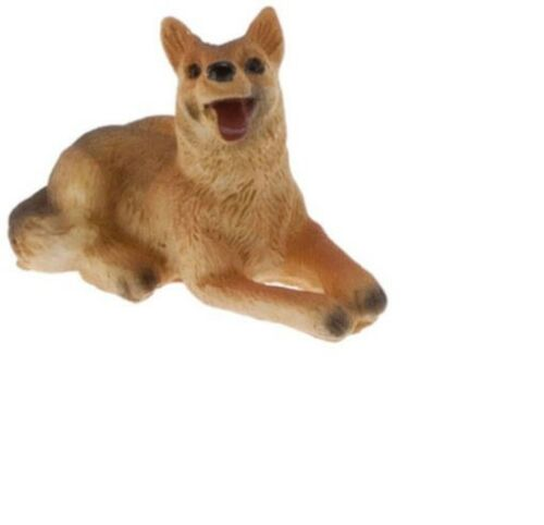 Dollhouse Miniatures 1:12 Scale German Shepard #IM65284