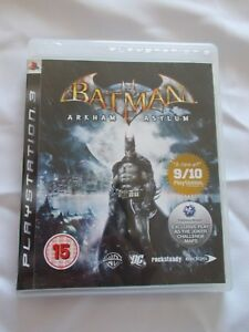 BATMAN-ARKHAM-ASYLUM-Sony-Playstation-3-PS3-BUONE-CONDIZIONI