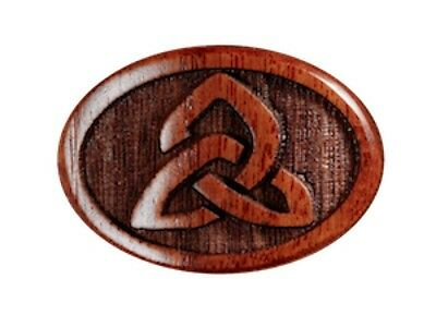 Tuner Buttons, Bolivian Rosewood, Engraved Celtic Knot for Gotohs