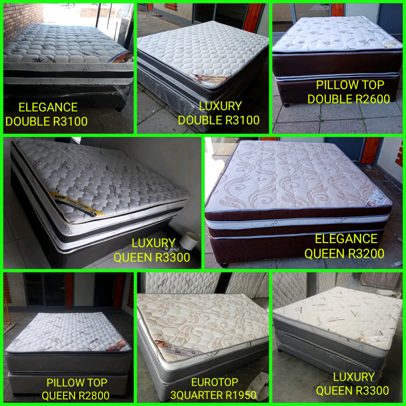 TOP OF THE RANGE BEDS STRAIGHT FROM THE FACTORY PAY CASH ON DELIVERY