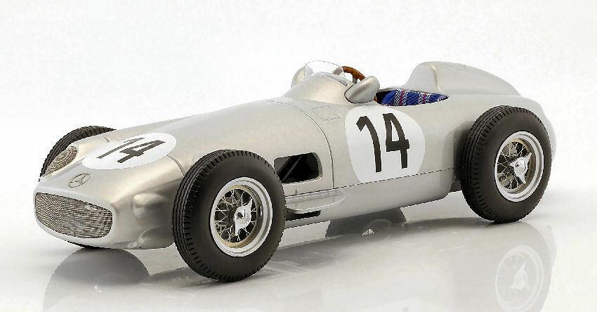 Mercedes W196 K.kling 1955 #14 3rd British Gp 1:18 Model I-SCALE