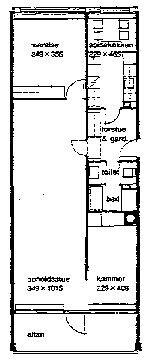 lejlighed byttes, 2970, Højmose Vænge 6 sal elevator 107 m2