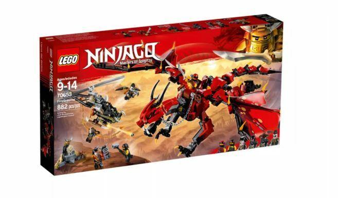 Lego Ninjago Masters of Spinjitzu  primerobourne Kit (70653)- gratuito Shipping  scelta migliore