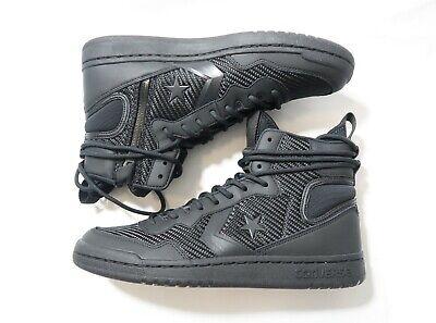 Converse Fastbreak Cascade Leather High Top Sneakers Black 162558C | eBay