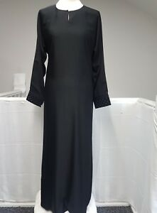 50f49411be36 New Ladies Lovely Plain Black Abaya A Shape With Latest Design FROM ...