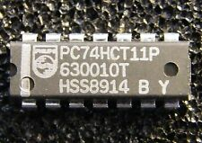 25x PC74HCT11P Triple 3-Input AND-Gate, Philips