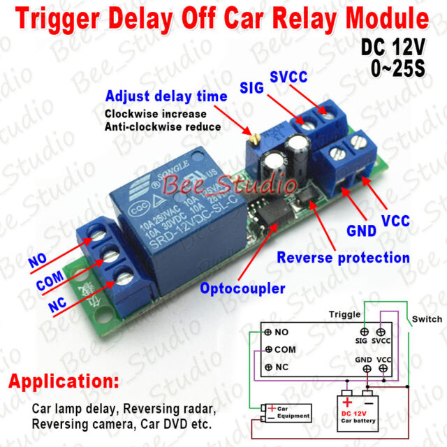 12v Trigger Relay Wiring - Wiring Diagram Srconds on
