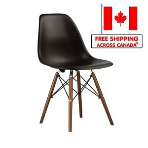 Molded Plastic Side Chair Accent