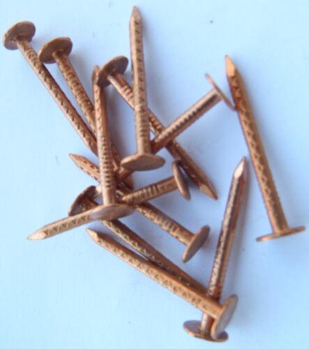 Kupfernägel Kupfer Nägel Stückzahl Wählbar 2,8 x 40 mm Copper Nails Neu /& Massiv