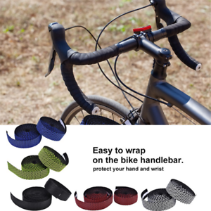 Drop Handlebar Tape Silica EVA Soft Wrap Bicycle Silicone Bar Tape Road Bike