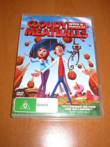 1 of 1 - CLOUDY WITH A CHANCE OF MEATBALLS - ( 2010 , DVD ) [ R4 ]