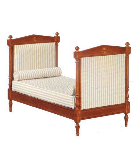 Casa De Muñecas Muebles de calidad escala 12th JJ30010WN Cama//Wal