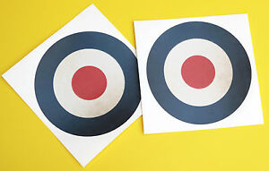 Details about RC Aircraft Plane RAF LARGE SCALE ROUNDELS VINTAGE WORN  stickers decal 145mm