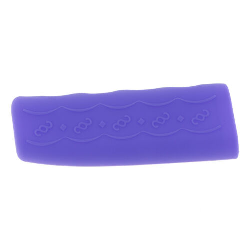 Car Vehicles Silicone Nonslip Hand Brake Lever Protector Cover Sleeve Purple