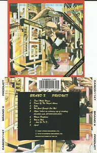 Brand-X-034-product-034-CD-1989-Virgin-UK-Phil-Collins
