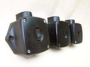 Art Deco Loft Alter Bakelit Schalter 1 Abgang Lichtschalter AP Kippschalter