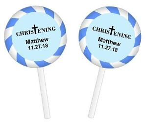 48-Personalized-Baptism-Christening-Lollipop-Round-Stickers-Labels-Blue-1-2-034