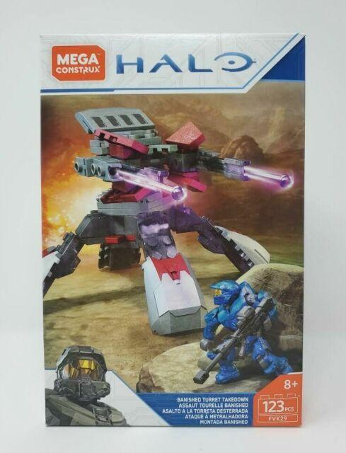 Mega Construx Halo Banished Turret Takedown (FVK29) NEW