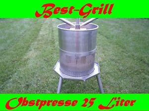 Best-Grill-Obstpresse-25L-Beerenpresse-Weinpresse-Apfelpresse-Saftpresse