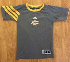 Los Angeles Lakers Adidas Boys S (8) NBA Basketball Kobe Bryant Climacool Shirt
