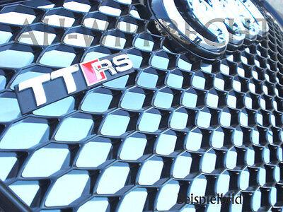 Original TTRS Grill Kühlergrill Audi TT 8J RS Alu/Schwarz Frontgrill Gitter OEM