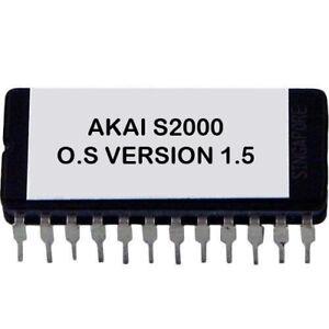 AKAI-S2000-Operating-System-1-5-EPROM-upgrade-OS-S-2000-Sampler