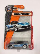'15 Corvette Stingray Polizei 2017 Matchbox Case C 64/125 (T07)