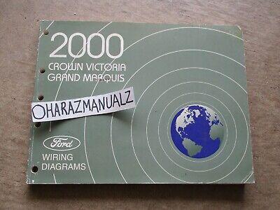 2000 Ford Crown Victoria Mercury Grand Marquis Wiring ...