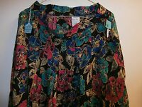 Vtg From Jc Penny's Pleated Skirt Size 16 Multi-color