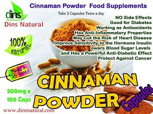 True Cinnamon Ceylon Capsules Supplements Gym Health