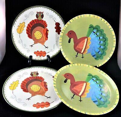 Pottery Barn Kids Vintage Thanksgiving Turkey Melamine