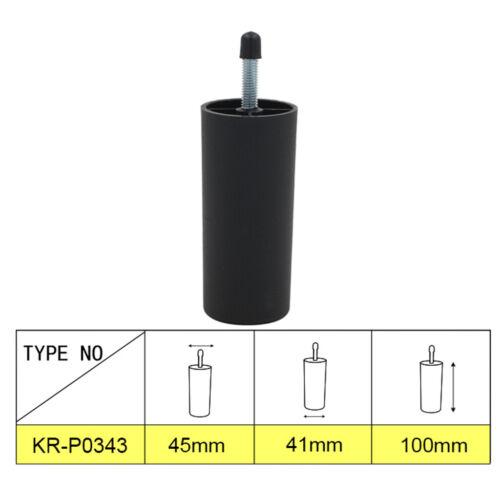 4 pcs Kunststoff Möbelerhöhung Betterhöhung Möbelerhöher Tischerhöher 100mm