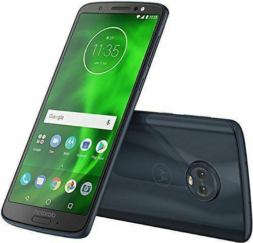 Motorola Moto G6 Xt1925 2 32gb 5 7 Unlocked Smartphone Deep Indigo Dual Sim 4g Lte For Sale Online Ebay
