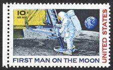 USA Mi. 990F II Unbek. Astronaut, Mondlandung, Abart selten, Attest (-,-)(88/18)