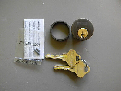 """New Oil Rubbed Bronze 1 1//8/"""" Schlage Everest Mortise Cylinder Adams-Rite Cam"""